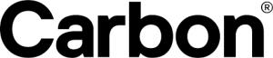 logo stampante 3d professionale carbon
