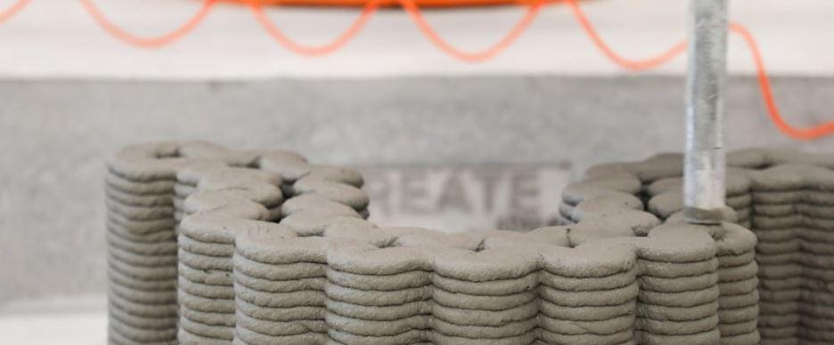 stampare cemento scuole stampa 3d