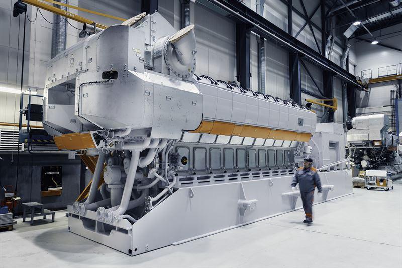 wartsila motore navale stampa 3d metallo
